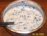 Spinach Raita